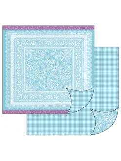 Бумага для скрапбукинга Ажурная салфетка, Stamperia, 31,2х30,3 см