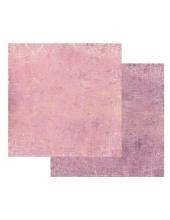 """Бумага для скрапбукинга двусторонняя """"Текстура - Розовый и Лиловый"""", Stamperia, 31,2х30,3 см"""