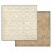 Бумага для скрапбукинга Орнамент Stamperia, 31,2х30,3 см