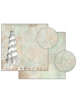 Бумага для скрапбукинга Маяк Stamperia, 31,2х30,3 см