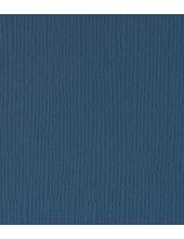 Бумага для скрапбукинга текстурированная, цвет Темно-лазурный, 30,5х30,5 см, ScrapBerry's