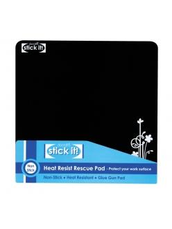 Коврик силиконовый термостойкий для хобби STICK IT, 20х20 см