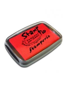 Штемпельная подушка пигментная WKP01G, красный, 7,7х4,7 см, Stamperia