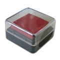 Штемпельная подушка пигментная Stamperia WKP01P, красный, 3х3 см
