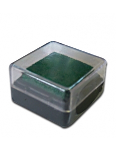 Штемпельная подушка пигментная Stamperia WKP02P, зеленый, 3х3 см
