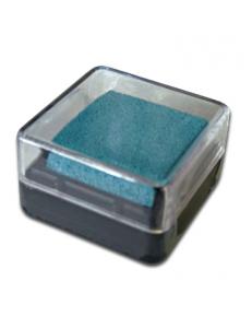 Штемпельная подушка пигментная Stamperia WKP07P, голубой, 3х3 см