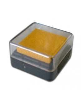 Штемпельная подушка пигментная Stamperia WKP09P, желтый, 3х3 см