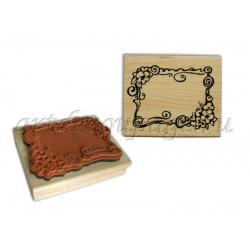 Штампы резиновые на деревянной основе