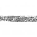 Тесьма серебристая с люрексом 7,5 мм х 1 м, PEGA