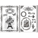 Переводная карта Transfer DFTR032 La Vie en Rose, 21х29,7 см, 2 листа, Stamperia
