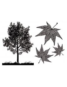 "Переводная карта Transfer DFTR056 ""Дерево"", 21х29,7 см, 2 листа, Stamperia"
