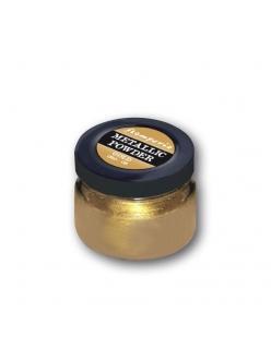 Пудра металлическая золотая для создания эффекта старины, 25 мл, Stamperia