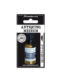 """Разбавитель """"Antiquing Medium"""" для металлической пудры, 20 мл, Stamperia"""
