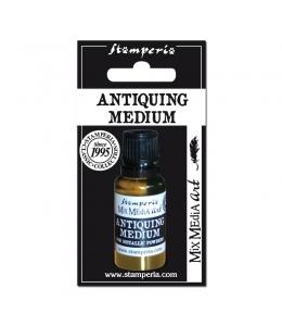 """Медиум """"Antiquing Medium"""" для металлической пудры, 20 мл, Stamperia"""