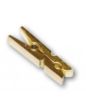 Декоративные мини прищепки, золотистые, 3,5 см, 12 шт, Stamperia (Италия)