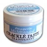 """Паста прозрачная для создания трещин моно-компонент """"Crackle Paste"""", серия """"Mix Media"""" Stamperia, 150 мл"""