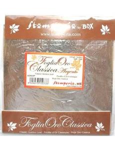 Поталь серебряная листовая, книжка 14х14 см, 11 листов, Stamperia