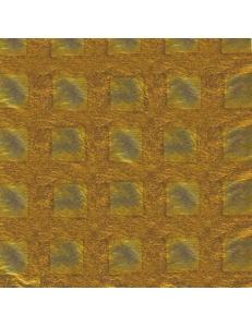 Поталь, фольга для золочения, рисунок Клетка, Stamperia