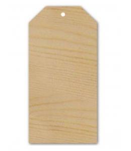 Декоративный элемент из дерева Бирка, 11,5х22,5 см, Stamperia (Италия)
