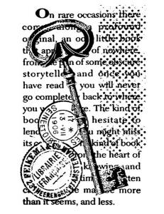 "Штамп резиновый на резиновой основе WTKCC105 ""Ключ и печати"", Stamperia, 7х11 см"