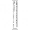 "Штамп резиновый на резиновой основе WTKCC96 ""Hand made"", 3,8х17,5 см, Stamperia"