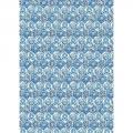 """Рисовая бумага для декупажа Stamperia DFSA3014 """"Голубая плитка"""", формат А3"""