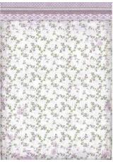 "Рисовая бумага для декупажа Stamperia DFSA3026 ""Прованс, цветы"", формат А3"