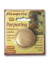 Пурпурин, пудра для золочения, патинирования и затирки кракелюр, золотой, 17 мл, Stamperia (Италия)