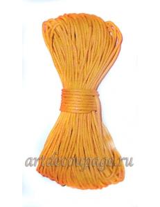 Вощеный шнур, цвет темно-желтый, 10 м, Stamperia (Италия), FLFCG