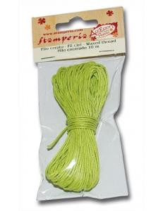 Вощеный шнур, цвет салатовый, 10 м, Stamperia (Италия), FLFCV
