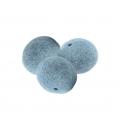 Бусины из войлока, 2 см, 10 шт, цвет голубой, Stamperia (Италия)