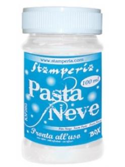 Паста с эффектом снега структурная Pasta Neve Stamperia, 100мл