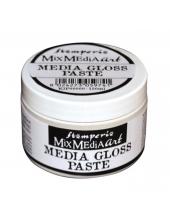 Паста гель блестящая Media Gloss Gel Paste Stamperia, 150 мл