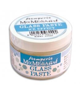 "Паста гелевая c микросферами ""Mix Media Glass Paste"" Stamperia, 150мл"