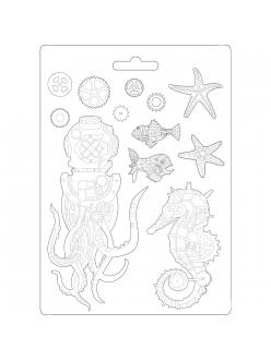 "Форма для моделирования ""Море"" 21х29,7 см, Stamperia"