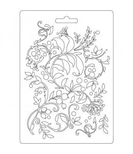 """Форма для моделирующих паст """"Ветки с ягодами"""", 14,8х21,0 см, Stamperia"""