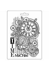 """Форма для моделирующих паст """"Время машин"""", 14,8х21,0 см, Stamperia"""