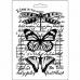 "Молд для декора ""Бабочки"", 14,8х21,0 см, Stamperia"