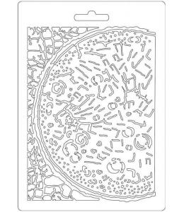 """Форма для моделирующих паст """"Космос Луна"""", 14,8х21,0 см, Stamperia"""
