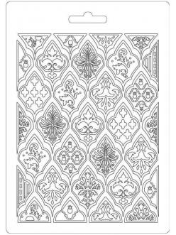 "Молд для декора ""Ромбы"", 14,8х21,0 см, Stamperia"