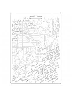 "Молд для декора ""Искусство"", 14,8х21,0 см, Stamperia"