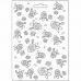 "Молд для декора ""Бутоны роз"", 14,8х21,0 см, Stamperia"