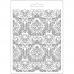 """Молд для декора """"Дамаск"""", 14,8х21,0 см, Stamperia K3PTA554"""