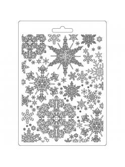 "Молд для декора ""Снежинки"", 14,8х21,0 см, Stamperia K3PTA556"