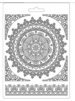 """Молд для декора """"Кружево"""", 14,8х21,0 см, Stamperia K3PTA560"""