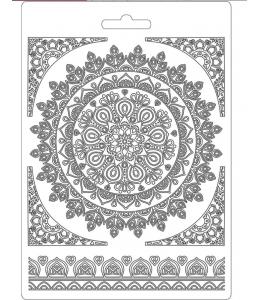 "Форма для моделирующих паст ""Кружево"", 14,8х21,0 см, Stamperia"