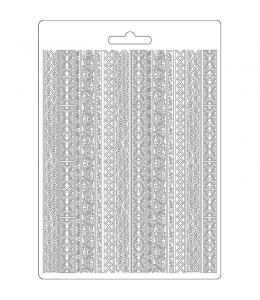 "Форма для моделирующих паст ""Амазония - племена"", 14,8х21,0 см, Stamperia"