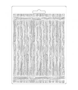 "Форма для моделирующих паст ""Амазония - доски"", 14,8х21,0 см, Stamperia"