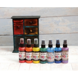 Краска - спрей Aquacolor Spray для техники Mix Media, Stamperia