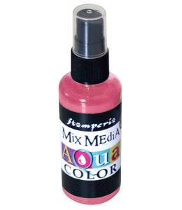 """Краска - спрей """"Aquacolor Spray """"для техники """"Mix Media"""" античная роза, 60 мл, Stamperia (Италия)"""